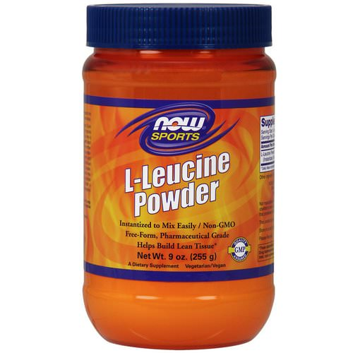 Now Foods, Sports, L-Leucine Powder, 9 oz (255 g) Review