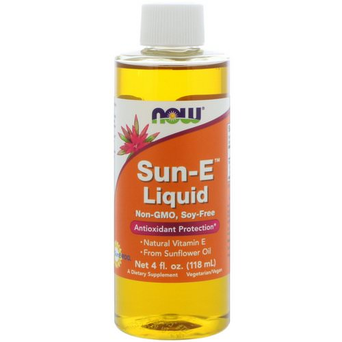 Now Foods, Sun-E Liquid, 4 fl oz (118 ml) Review