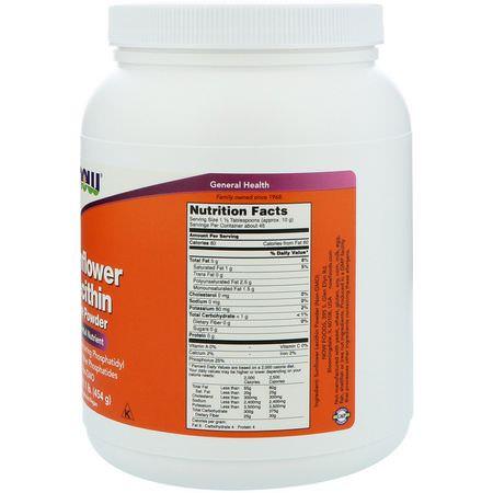 sunflower liquid lecithin for diet