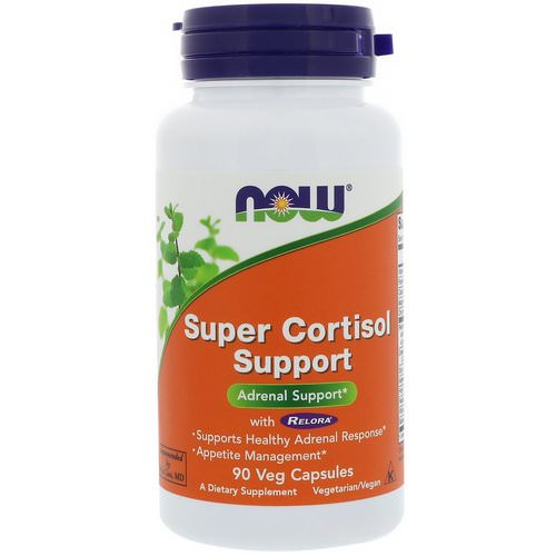 Now Foods, Super Cortisol Support, 90 Veg Capsules Review