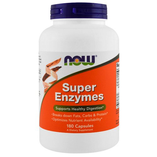 Now Foods, Super Enzymes, 180 Capsules Review