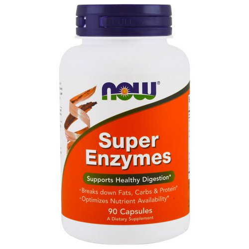 Now Foods, Super Enzymes, 90 Capsules Review