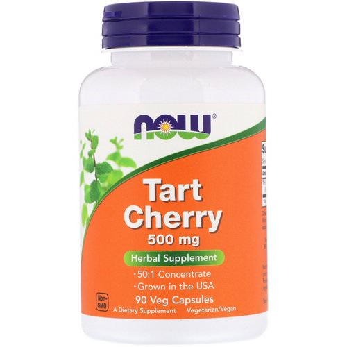 Now Foods, Tart Cherry, 500 mg, 90 Veg Capsules Review