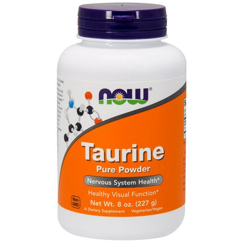 Now Foods, Taurine, Pure Powder, 8 oz (227 g) Review