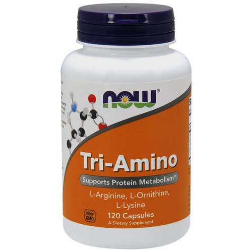 Now Foods, Tri-Amino, 120 Capsules Review