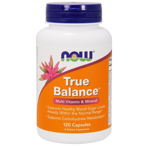 Now Foods, True Balance, Multi Vitamin & Mineral, 120 Capsules Review