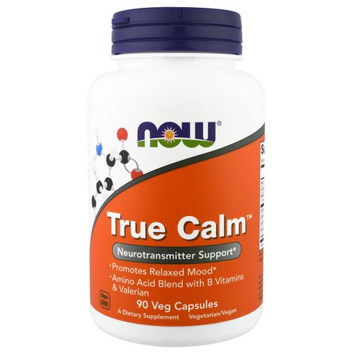 Now Foods, True Calm, 90 Veggie Caps Review