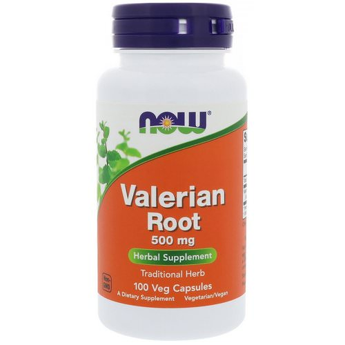 Now Foods, Valerian Root, 500 mg, 100 Veg Capsules Review