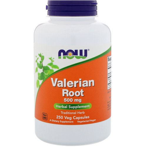 Now Foods, Valerian Root, 500 mg, 250 Veg Capsules Review