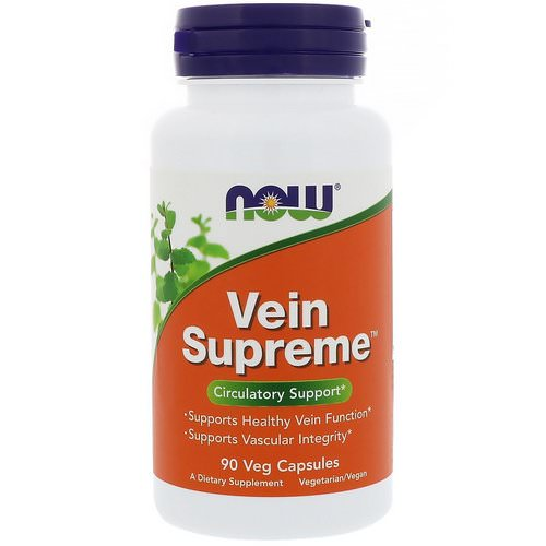 Now Foods, Vein Supreme, 90 Veg Capsules Review