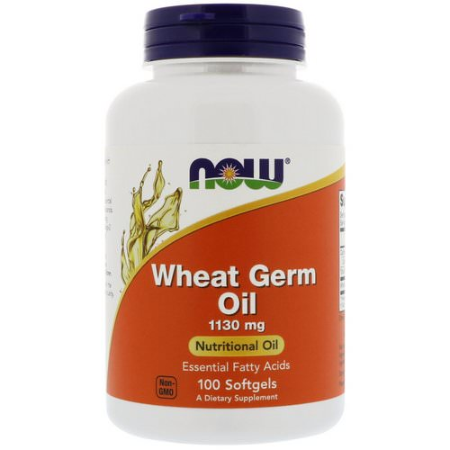 Now Foods, Wheat Germ Oil, 1130 mg, 100 Softgels Review