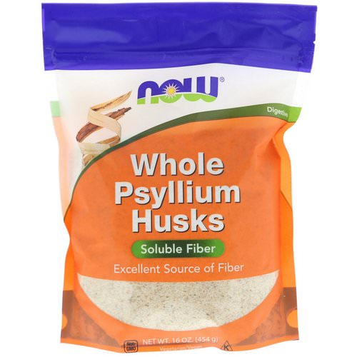 Now Foods, Whole Psyllium Husks, 16 oz (454 g) Review