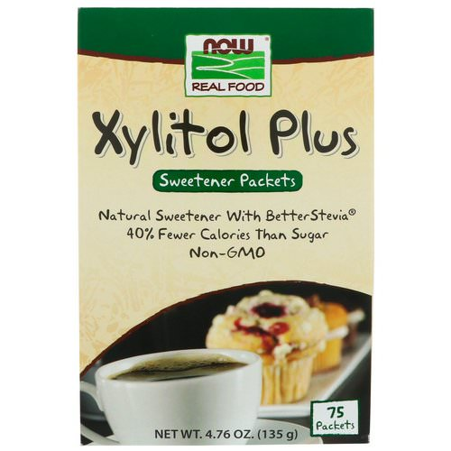 Now Foods, Xylitol Plus, 75 Packets, 4.76 oz (135 g) Review
