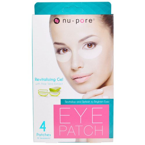 Nu-Pore, Revitalizing Gel Patches, With Aloe Vera Extract, 4 Patches Review