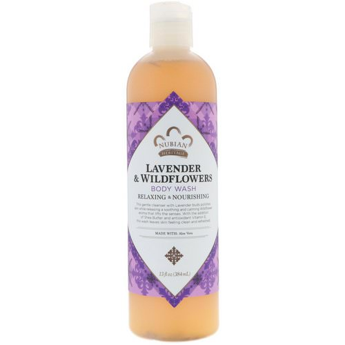 Nubian Heritage, Body Wash, Lavender & Wildflowers, 13 fl oz (384 ml) Review