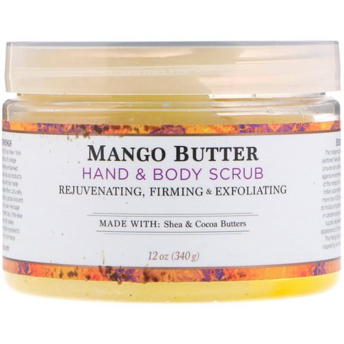 Nubian Heritage, Hand & Body Scrub, Mango Butter, 12 oz (340 g) Review