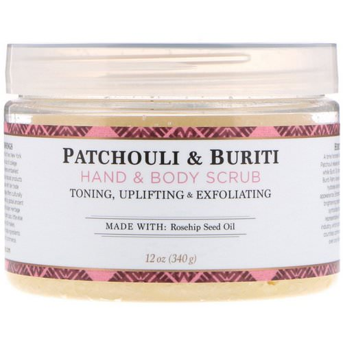 Nubian Heritage, Hand & Body Scrub, Patchouli & Buriti, 12 oz (340 g) Review