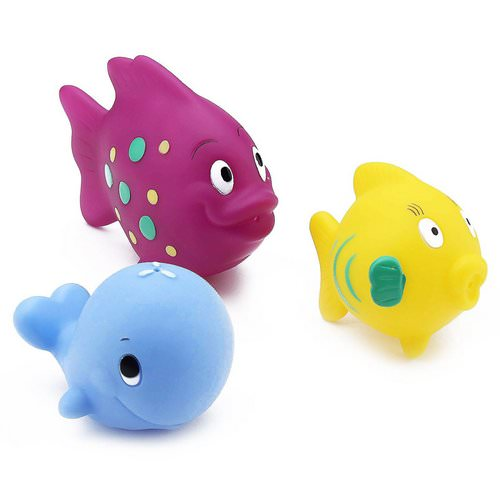 Nuby, Fun Fish Squirters, 6+m, 3 Pack Review