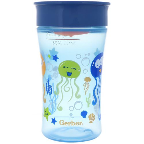 NUK, Magic 360, Magical Spoutless Cup, 12+ Months, Boy, 1 Cup, 10 oz (300 ml) Review
