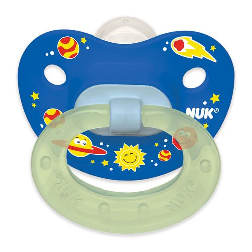 NUK, Orthodontic Pacifier, 6-18 Months, 2 Pack Review