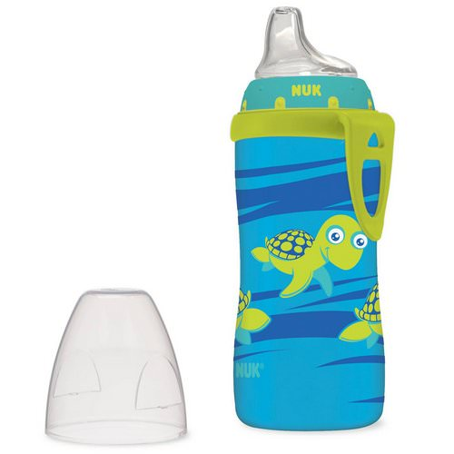 NUK, Turtle Active Cup, 12+ Months, 1 Cup, 10 oz (300 ml) Review
