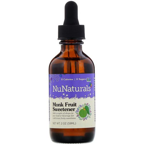 NuNaturals, Monk Fruit Sweetener, 2 oz (59 ml) Review