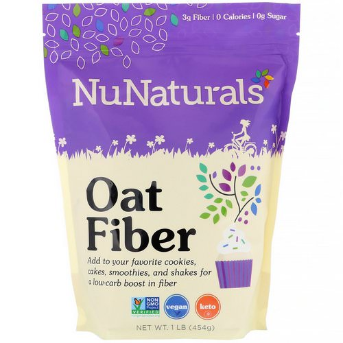 NuNaturals, Oat Fiber, 1 lb (454 g) Review