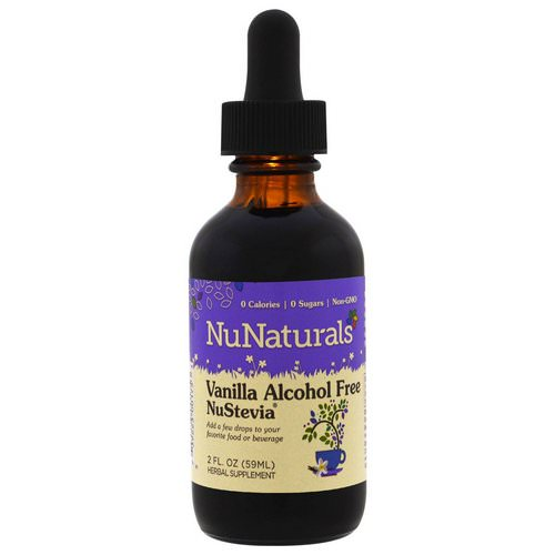 NuNaturals, Alcohol Free NuStevia, Vanilla, 2 fl oz (59 ml) Review