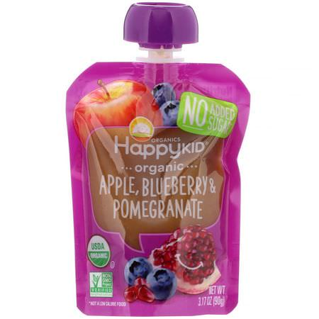 Happy Family Organics, Pouches, Purees, Meals