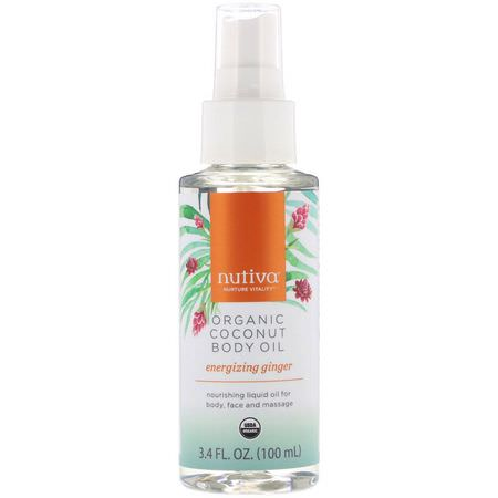Nutiva, Body, Massage Oils, Coconut Skin Care