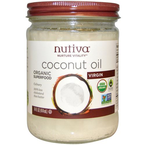 Nutiva, Organic Coconut Oil, Virgin, 14 fl oz (414 ml) Review