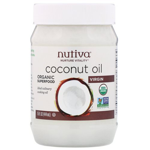 Nutiva, Organic Coconut Oil, Virgin, 15 fl oz (444 ml) Review