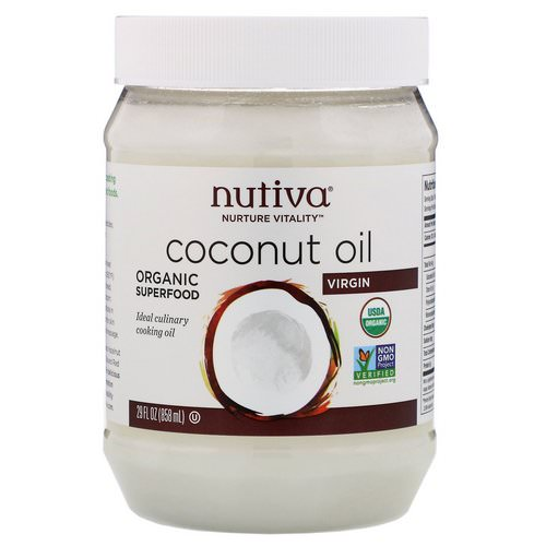 Nutiva, Organic Coconut Oil, Virgin, 29 fl oz (858 ml) Review