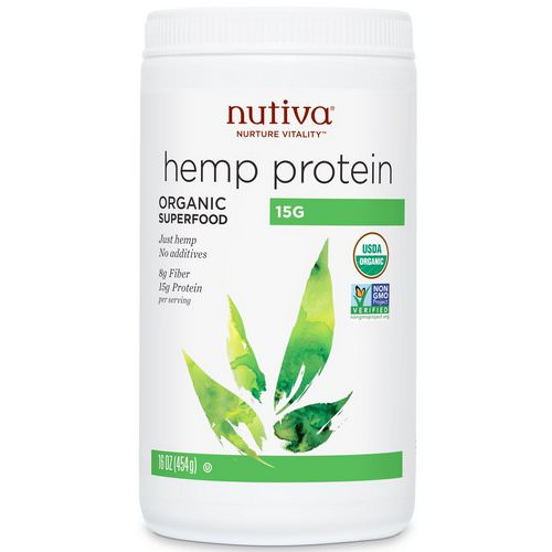 Nutiva, Organic Hemp Protein, 16 oz (454 g) Review