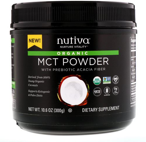 Nutiva, Organic MCT Powder, 10.6 oz (300 g) Review