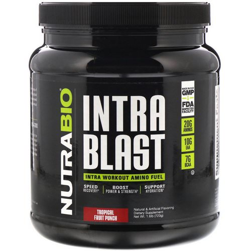 NutraBio Labs, Intra Blast, Tropical Fruit Punch, 1.6 lb (723 g) Review