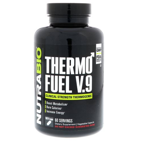 NutraBio Labs, ThermoFuel V.9 for Men, 180 Vegtable Capsules Review