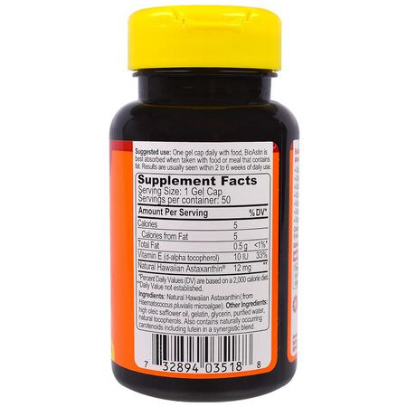 Astaxanthin, Antioxidants, Supplements