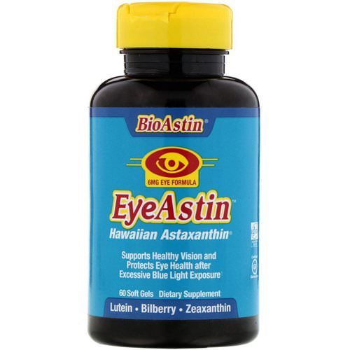 Nutrex Hawaii, EyeAstin, 60 Softgels Review