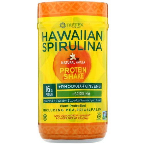Nutrex Hawaii, Hawaiian Spirulina, Protein Shake, Natural Vanilla, 12.8 oz (364 g) Review