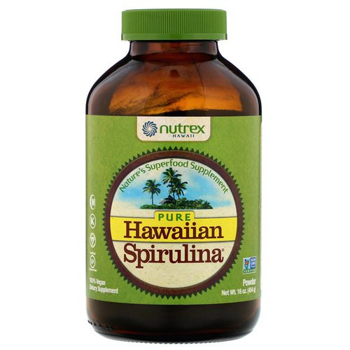 Nutrex Hawaii, Pure Hawaiian Spirulina, Powder, 16 oz (454 g) Review