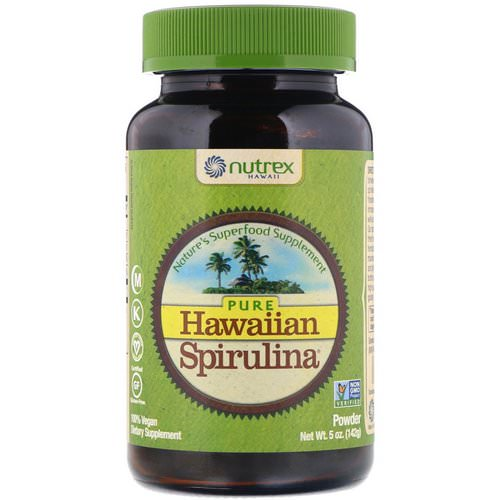 Nutrex Hawaii, Pure Hawaiian Spirulina, Powder, 5 oz (142 g) Review