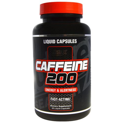 Nutrex Research, Caffeine 200, Energy & Alertness, 60 Liquid Capsules Review