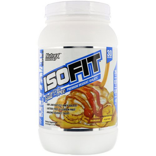 Nutrex Research, Isofit, Banana Foster, 2.2 lbs (990 g) Review
