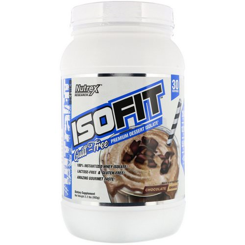 Nutrex Research, Isofit, Chocolate Shake, 2.2 lbs (993 g) Review