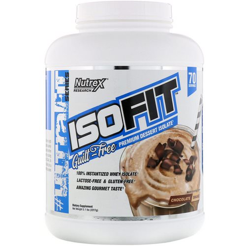 Nutrex Research, IsoFit, Chocolate Shake, 5 lbs (2261 g) Review