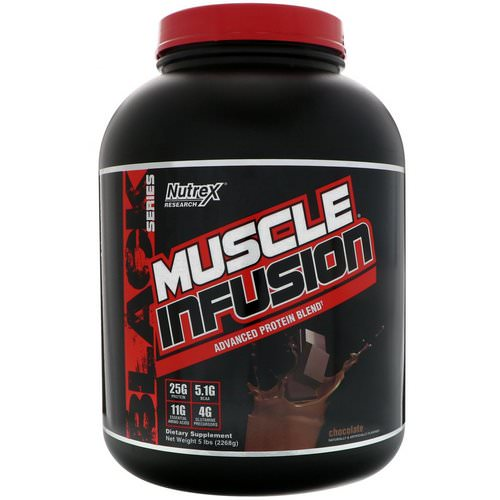 Nutrex Research, Muscle Infusion, Advanced Protein Blend, Chocolate, 5 lbs (2268 g) Review
