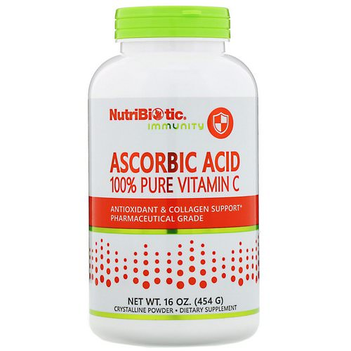 NutriBiotic, Immunity, Ascorbic Acid, 100% Pure Vitamin C, 16 oz (454 g) Review