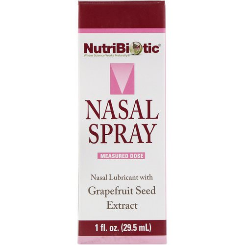 NutriBiotic, Nasal Spray, with Grapefruit Seed Extract, 1 fl oz (29.5 ml) Review