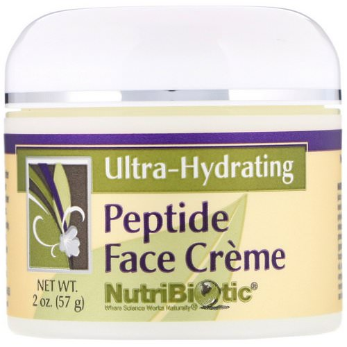 NutriBiotic, Peptide Face Creme, Ultra-Hydrating, 2 oz (57 g) Review